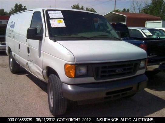 2006 FORD ECONOLINE VAN - Small image. Stock# 9868839