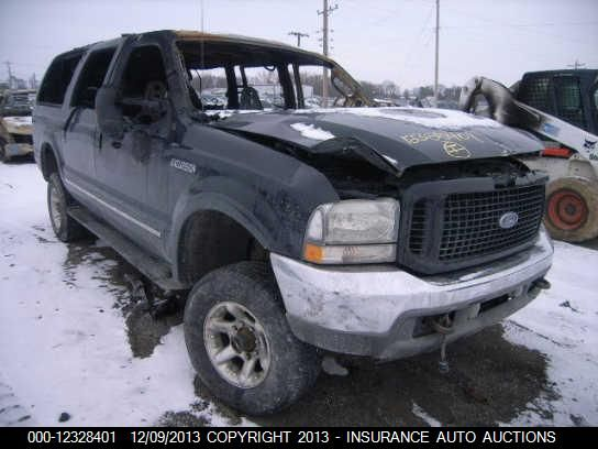 2004 FORD EXCURSION - Small image. Stock# 12328401