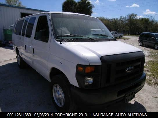 2008 FORD ECONOLINE WAGON - Small image. Stock# 12811380