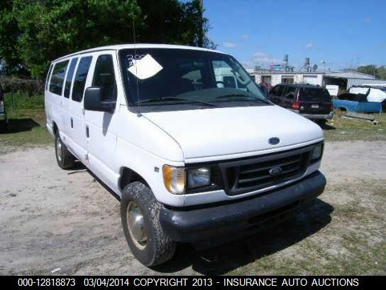 2003 FORD ECONOLINE WAGON - Small image. Stock# 12818873