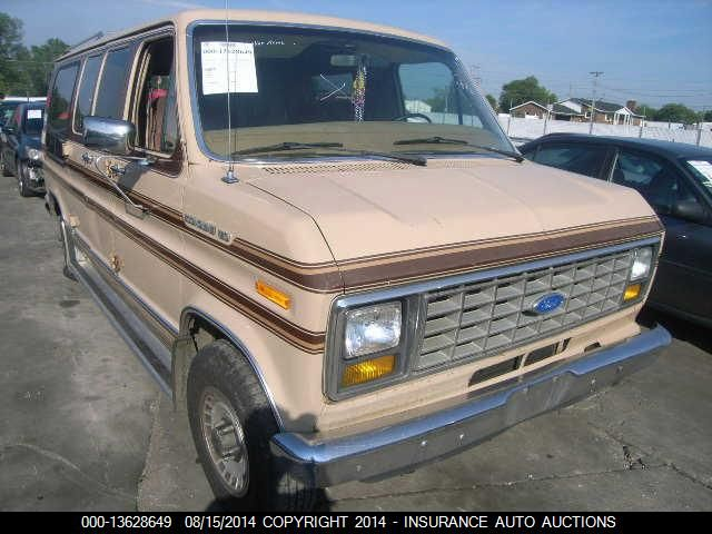 1985 FORD ECONOLINE VAN - Small image. Stock# 13628649