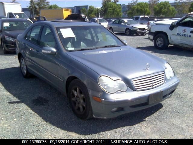 2004 MERCEDES-BENZ C240 - Small image. Stock# 13760035