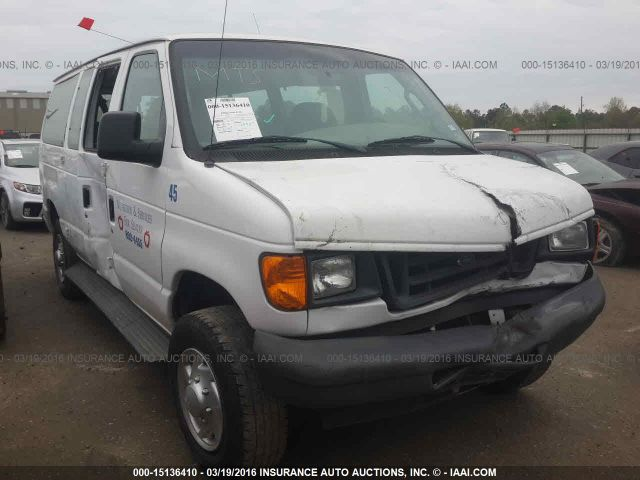 2007 FORD ECONOLINE WAGON - Small image. Stock# 15136410