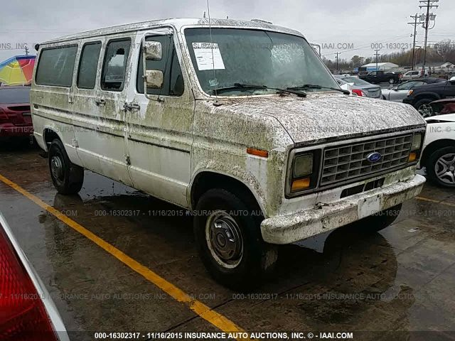 1990 FORD ECONOLINE VAN - Small image. Stock# 16302317