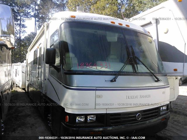 click here to view 1997 HOLIDAY RAMBLER ENDEAVOR (1996 FRTLNR) at IBIDSAFELY