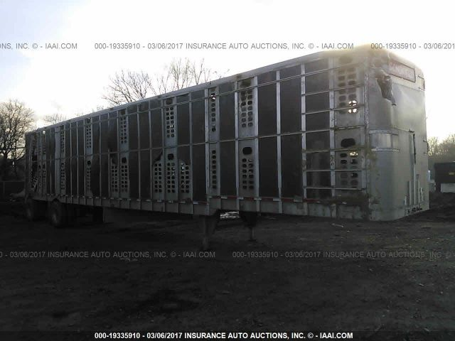 click here to view 2002 WILSON TRAILER CO LIVESTOCK TRAILER at IBIDSAFELY