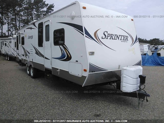 click here to view 2011 KEYSTONE SPRINTER 260RB at IBIDSAFELY