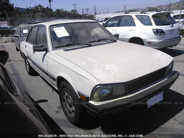 click here to view 1987 Peugeot 505 at IBIDSAFELY