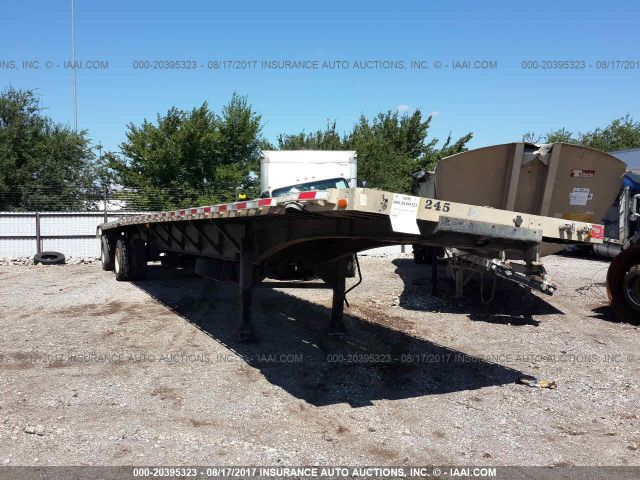 click here to view 1999 DORSEY TRAILERS FLATBED at IBIDSAFELY
