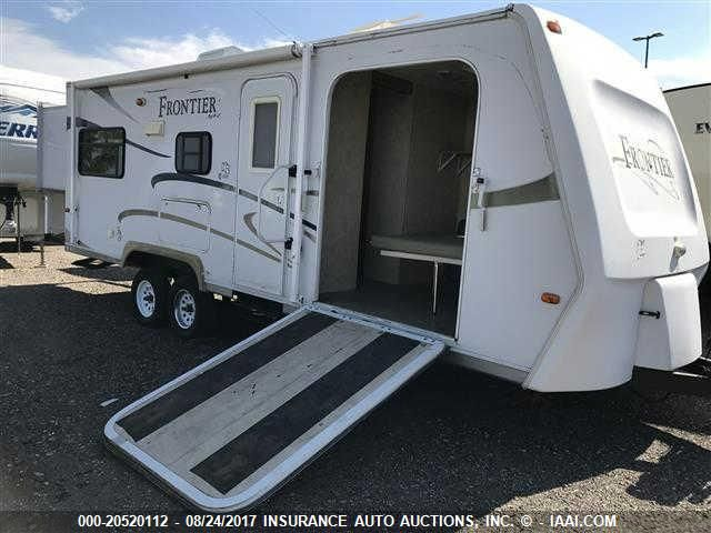 click here to view 2007 KZ FRONTIER TOY HAULER at IBIDSAFELY