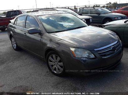 Salvage 2007 TOYOTA AVALON for sale