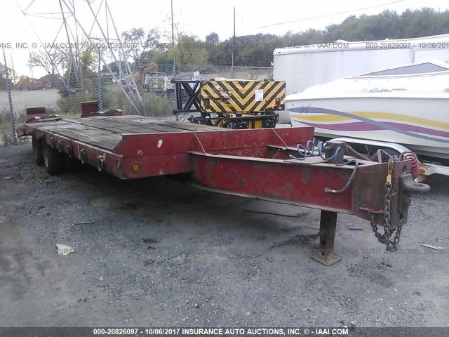 click here to view 1996 EAGER BEAVER EQUIPMENT TRAILER at IBIDSAFELY