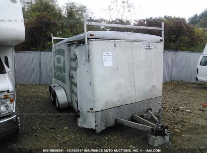Salvage 2004 WELLS CARGO UTILITY for sale