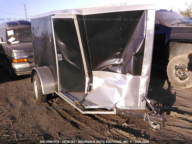 click here to view 2017 COVERED WAGON ENCLOSED TRAILER 5X8 at IBIDSAFELY