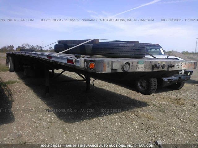 click here to view 2001 FONTAINE TRAILER CO FLATBED at IBIDSAFELY