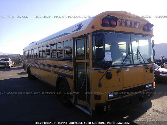 2001 BLUE BIRD SCHOOL BUS / TRAN - Small image. Stock# 21383361