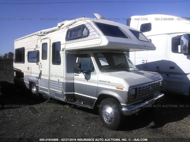click here to view 1990 JAMBOREE MOTORHOME(1989 E350) at IBIDSAFELY