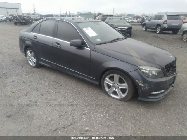 Salvage 2011 MERCEDES-BENZ C-CLASS - Small image. Stock# 21913351