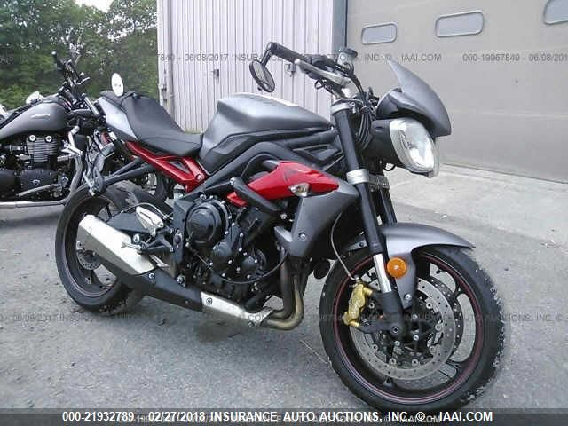 click here to view 2013 TRIUMPH MOTORCYCLE STREET TRIPLE at IBIDSAFELY