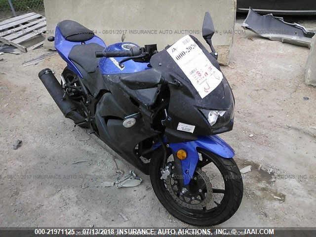 2009 KAWASAKI EX250 - Small image. Stock# 21971125