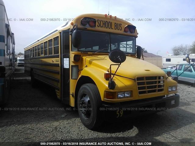 2004 BLUE BIRD SCHOOL BUS / TRANSIT BUS - Small image. Stock# 21982970
