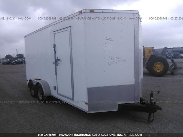 click here to view 2015 COVERED WAGON CW7X16TA2 at IBIDSAFELY