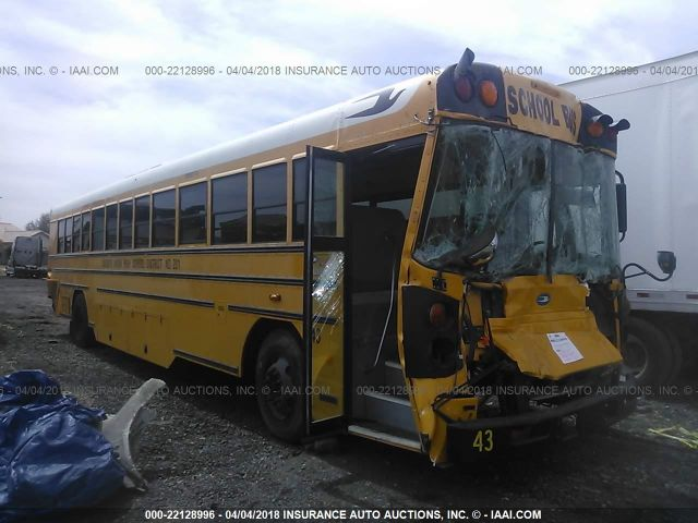 2012 BLUE BIRD SCHOOL BUS / TRANSIT BUS - Small image. Stock# 22128996