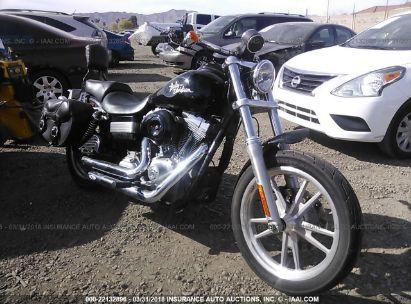 Salvage 2010 HARLEY-DAVIDSON FXD for sale