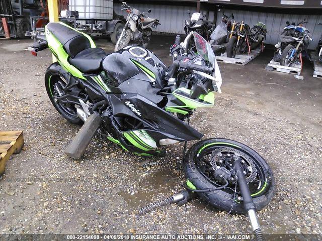Salvage Kawasaki For Sale