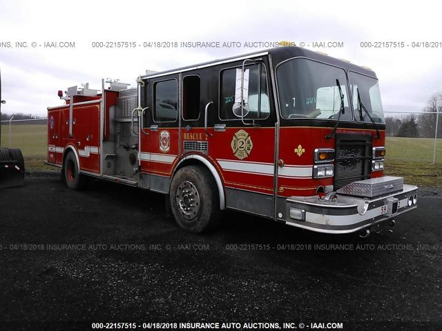 1992 SPARTAN MOTORS FIRETRUCK - Small image. Stock# 22157515