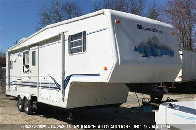click here to view 1999 SUNNYBROOK TRAVEL TRAILER at IBIDSAFELY