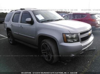 Salvage 2007 CHEVROLET TAHOE for sale