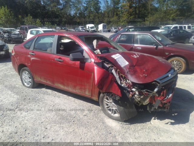 Salvage 2009 FORD FOCUS - Small image. Stock# 22389962
