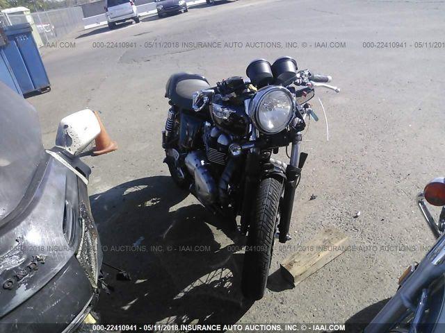 TRIUMPH MOTORCYCLE THRUXTON