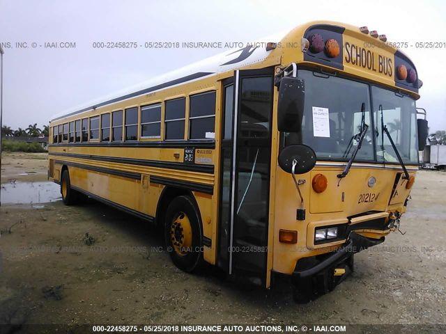 BLUE BIRD SCHOOL BUS