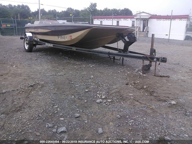 1985 SKEETER BOAT TRAILER - Small image. Stock# 22645494