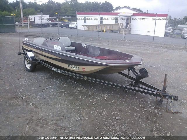 1983 SKEETER BOAT - Small image. Stock# 22704561