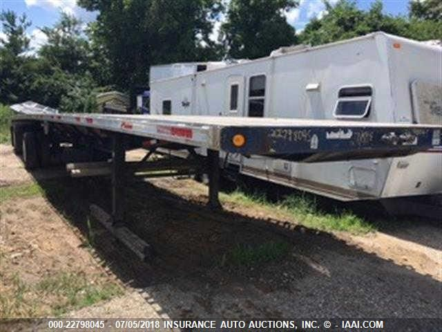 2008 FONTAINE TRAILER CO FLATBED - Small image. Stock# 22798045