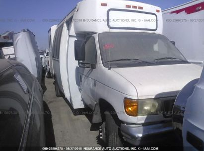 Salvage 2003 FORD E450 for sale