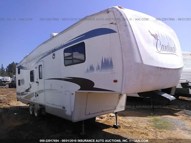 click here to view 2005 CARDINAL FIFTH WHEEL at IBIDSAFELY