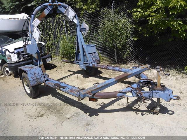 click here to view 1995 TRAILER SINGLE AXLE STAKE at IBIDSAFELY