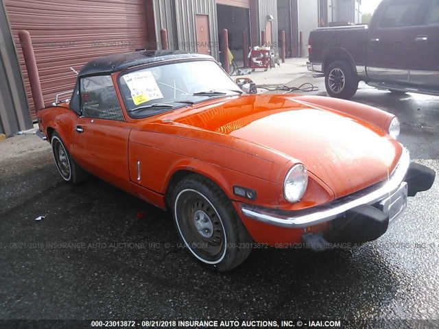 click here to view 1978 TRIUMPH SPITFIRE at IBIDSAFELY