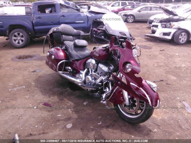 2017 INDIAN MOTORCYCLE CO. ROADMASTER - Small image. Stock# 23099467