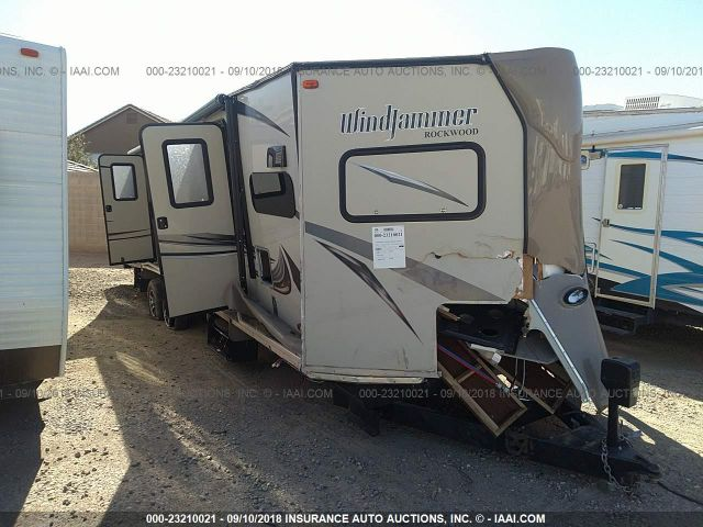 click here to view 2016 ROCKWOOD WINDJAMMER TRAVEL TRAILER at IBIDSAFELY