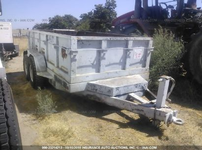 Salvage 2000 BIG TEX 12 for sale