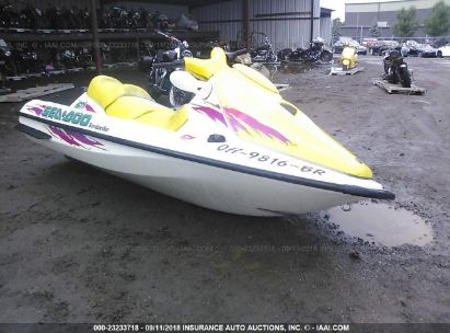 Salvage 1996 SEADOO SEADOO GTI for sale