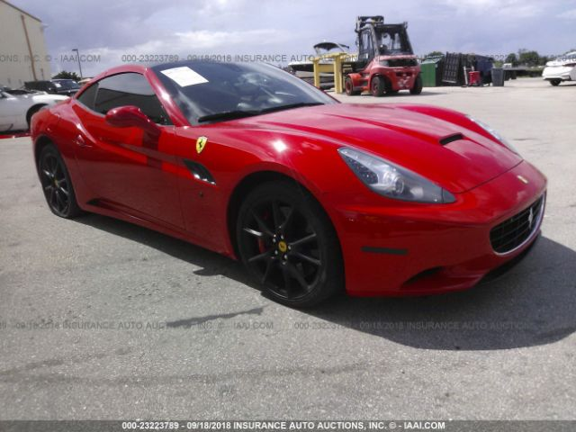 2012 FERRARI CALIFORNIA - Small image. Stock# 23223789
