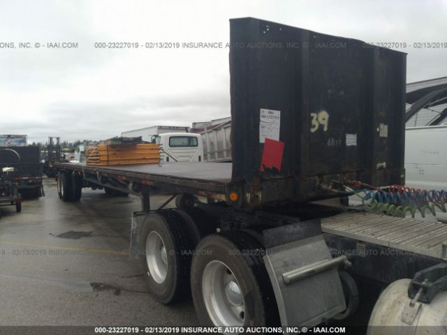 1993 FONTAINE TRAILER CO FLATBED - Small image. Stock# 23227019