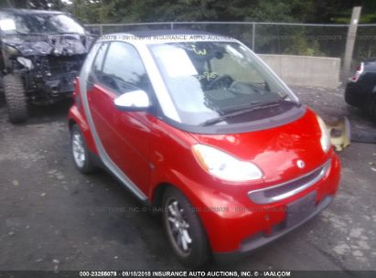 Salvage 2008 Smart Fortwo For