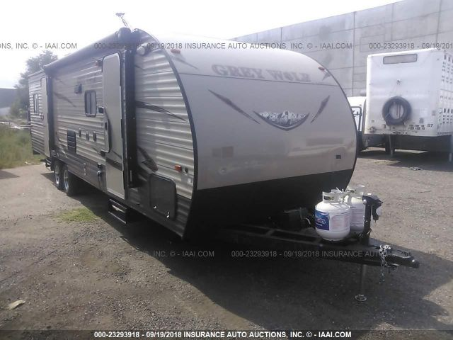 click here to view 2016 FOREST RIVER GREY WOLF at IBIDSAFELY